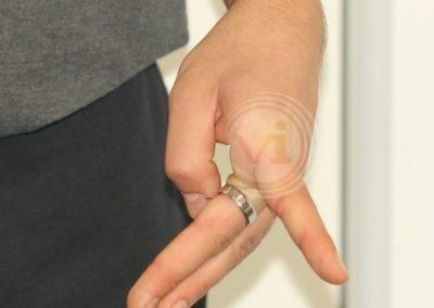 Black Finger Tattoo After